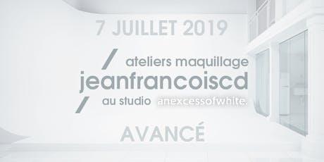 ATELIER MAQUILLAGE AVANCÉ - 7 JUILLET 2019 billets