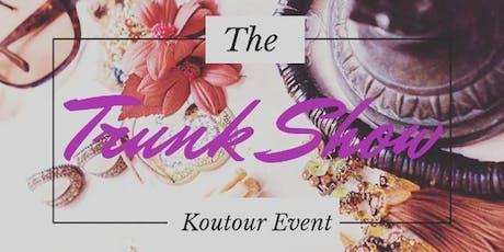 The Koutour Trunk Show tickets