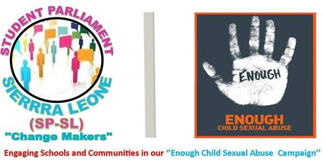 Enough Child Sexual Abuse Campaign-Launching  tickets