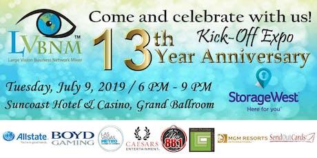 13th Year Anniversary LVBNM Kick-Off Expo tickets