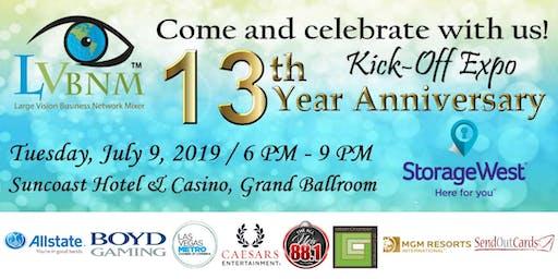 13th Year Anniversary LVBNM Kick-Off Expo