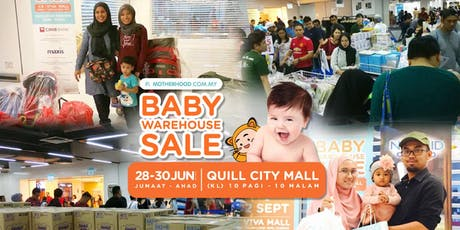 Motherhood Baby Warehouse Sale 28-30 June 2019 tickets
