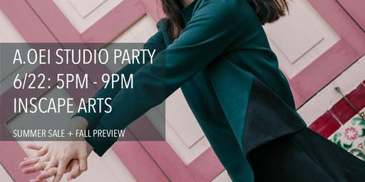 A.Oei Fashion Studio Party