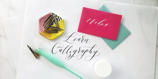 Intro to Modern Calligraphy with Calligraphy Nerd