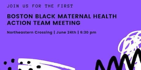 Boston Black Maternal Health Action Team Meeting tickets