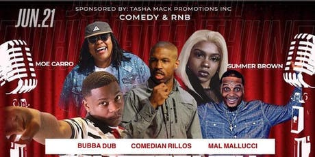 #besomeonefest Comedy and RNB tickets