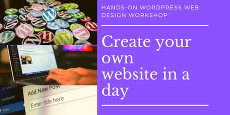 London Web Design Workshop -Learn Wordpress and create your own website in a day tickets