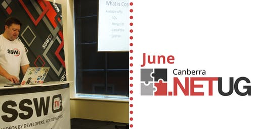 June Canberra .NET User Group: Real-life SpendOps with Cosmos DB - presented by William Liebenberg