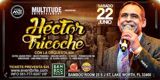 El Mas Esperado Hector Tricoche  En El Bamboo Room Salsa Night