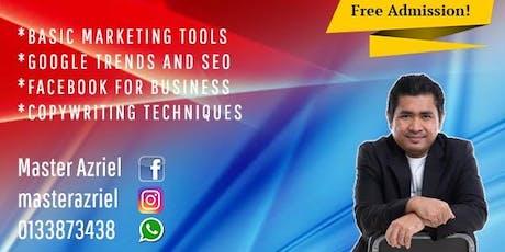 Kursus Digital Marketing tickets