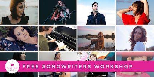 Free Songwriters Workshop - Adelaide