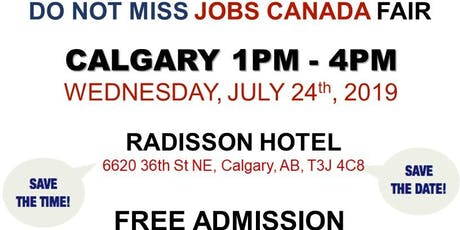 CALGARY JOB FAIR – July 24th, 2019 tickets
