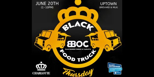 Black Food Truck Thursday (Juneteenth) UPTOWN