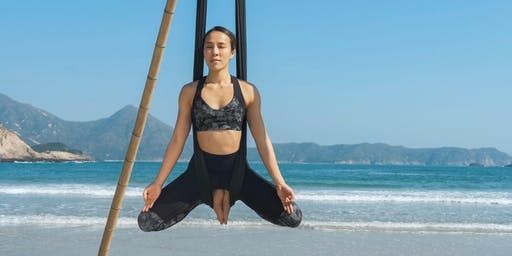 Aerial Beach Yoga - beginners (7, 14, 20, 28 July)