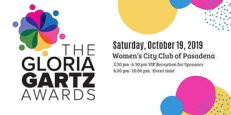 2019 Gloria Gartz Gala tickets