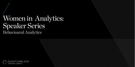 QuantumBlack Women in Analytics Speaker Series tickets