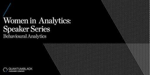 QuantumBlack Women in Analytics Speaker Series