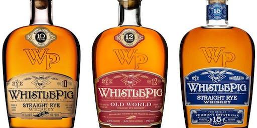 Whistle Pig Rye Tasting