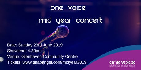The Magic of Music One Voice Mid Year concert 2019 tickets