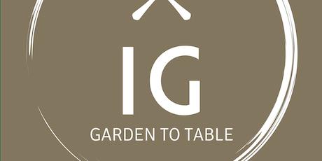 Independence Gardens  Pop-up Dinner Series  ~ Chef Otto Borsich ~ tickets