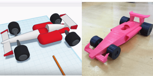 Binary Tech 3D Design Robotics Workshop