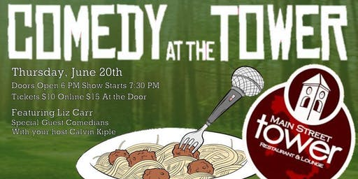 Comedy at the Tower - June Edition