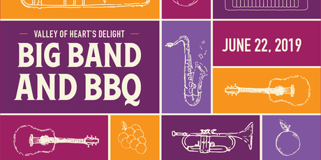 2019 Valley of Heart's Delight: Big Band & BBQ tickets