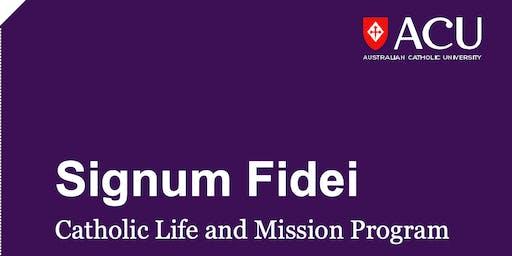 Signum Fidei Seminar Module One - North Sydney