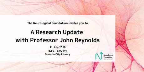 Research Update with Professor John Reynolds tickets