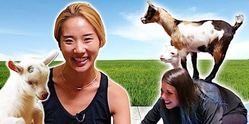 Hollywood Goat Yoga at Noon