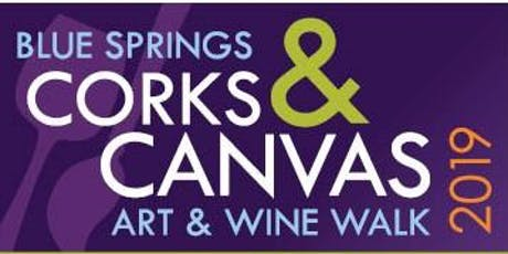 Blue Springs Corks & Canvas tickets
