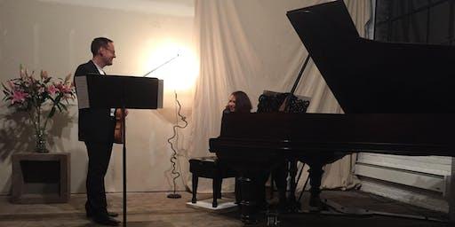 Tobias Steymans and Victoria Schwartzman