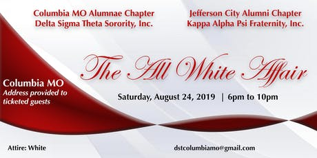 The All White Affair tickets