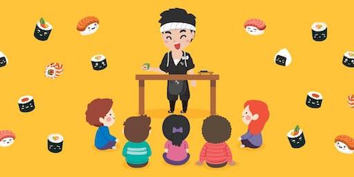 Kids sushi making workshop