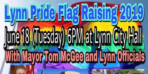 2019 Lynn Pride Flag Raising Ceremony
