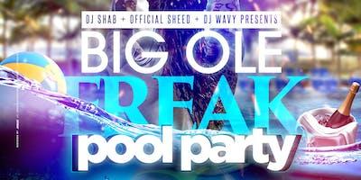 BIG OLE FREAK POOL PARTY