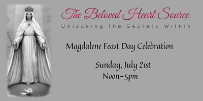 Magdalene Feast Day Celebration w/Susanah Magdalena