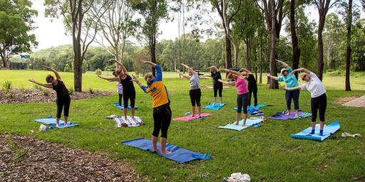 $5 Pilates classes!!!  Pilates in the Park, Perth St Park, Camp Hill