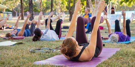 FREE Pilates in the Park, Joe Bradfield Park, Carina tickets