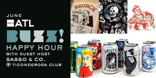 Buzz Happy Hour: Ticonderoga Club with Guest Host Sasso & Co.
