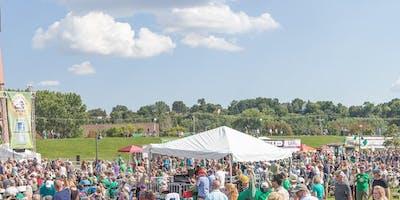 2019 FINNEGANS tent at Irish Fair Minnesota