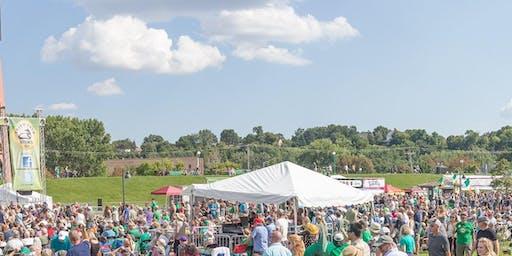 2019 FINNEGANS tent at Irish Fair Minnesota (Fri Aug 9 - Sun Aug 11)