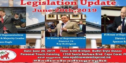 Legislative Update with Representatives Eagle, Roach and Rodrigues