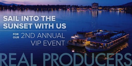 CDA Real Producers VIP Summer Boat Party (Willamette Valley Bank)