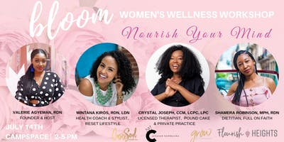 BLOOM WELLNESS WORKSHOP 2019: NOURISH YOUR MIND