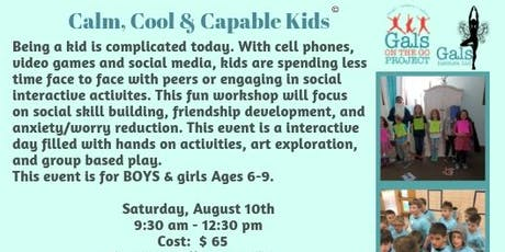 Calm, Cool, Capable Kids tickets