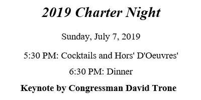 Potomac Rotary Charter Night