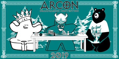 Arcon 2019 July 26th at 5PM to 10PM and Saturday July 27 at 10AM to 10PM tickets