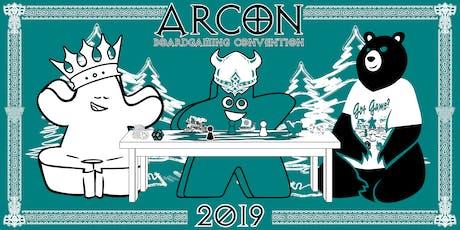 Arcon 2019 tickets