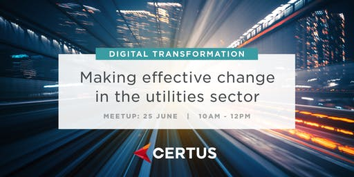 Digital Transformation & Making Effective Change for Utilities: Mini-Summit